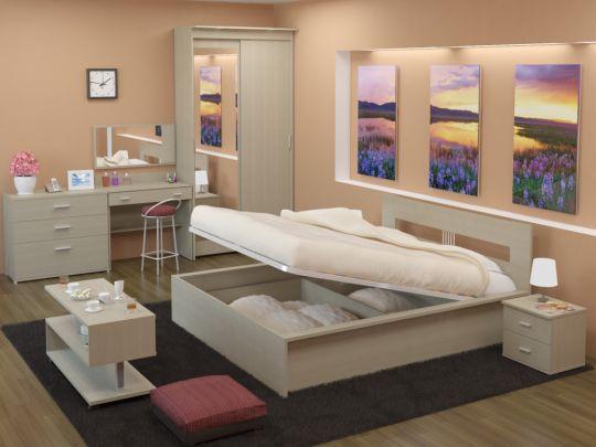 Кровать КР с подъемным механизмом   Васко