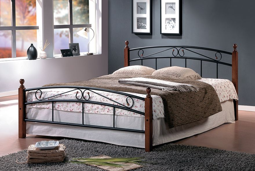 Полутороспальная кровать АТ-8077 Малайзия | TC