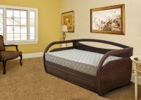 Кровать Скай без ящиков из массива бука   Диамант-М